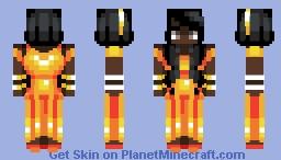 Core Interiorem - Center of the Earth Minecraft Skin