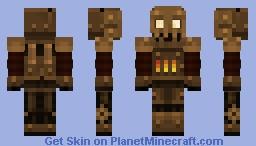 Brass Automaton Minecraft Skin