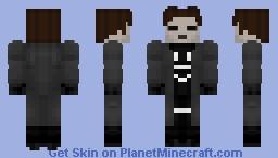 The Question (Black Lantern) Minecraft Skin