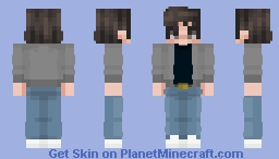 Steve Harrington | Stranger Things | 2 Minecraft Skin