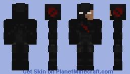 Black Flash Minecraft Skin