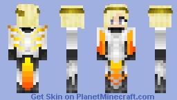 Mercy - Overwatch Minecraft Skin