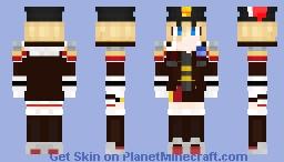 Azur Lane (Bismarck) Minecraft Skin