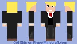 Zachary Taylor Shortman from Hey Arnold 2020 Minecraft Skin