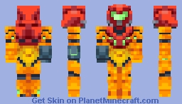 Samus Aran //Entry Minecraft Skin