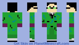 Edward Nygma (The Riddler) Gotham 5x12 Minecraft Skin
