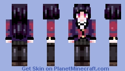 crazy gambler girl Minecraft Skin