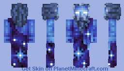 God of universes Minecraft Skin