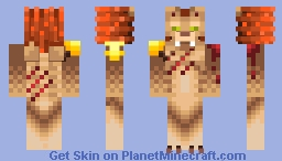 I bleed, but not for you Minecraft Skin