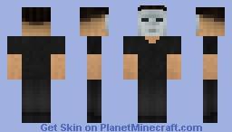Tissou's Noir Man [Welcome to the Game 2] Minecraft Skin