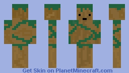 Tree thing Minecraft Skin