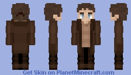 Eren Yeager - Attack on Titan / Later Chapters (Request) Minecraft Skin