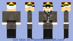 Henri Philippe Petain (Vichy France Guy) Minecraft Skin