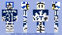 Frederik Andersen (Edited) Minecraft Skin