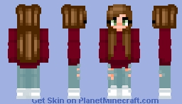 Trendy Girl Minecraft Skin