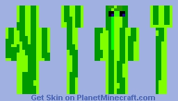 pastèque sauvage Minecraft Skin