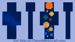 Pluto IS a Planet Minecraft Skin