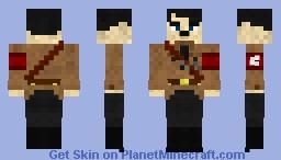 Dummkopf österreichisch Minecraft Skin