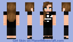 I want to be tall - Jenna Marbles {Youtuber Collection} Minecraft Skin