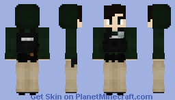 Police Officer - Plainclothes Street Crimes Unit Minecraft Skin