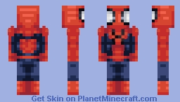 Ultimate Spider-man ∣ Earth 1610 Minecraft Skin
