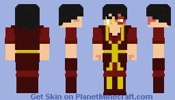 Avatar-Zuko Minecraft Skin