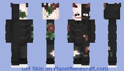 both are half and half of 2 different skins Minecraft Skin