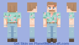 Hopper - Stranger Things Minecraft Skin