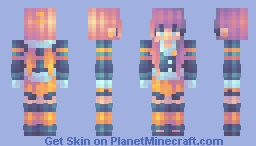 memora | electric angel | fs Minecraft Skin