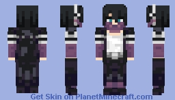 [BNHA] Dabi (with Clout Goggles) Minecraft Skin
