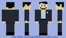 Andrew Yang: Our Next President Minecraft Skin