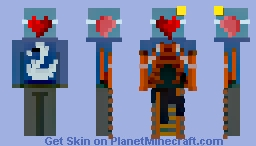 Climb your Heart Minecraft Skin