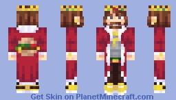 Logo Series - Burger King - The Burger King Minecraft Skin