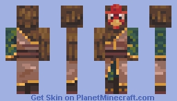 General Tso's chicken Minecraft Skin