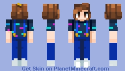 Eleven Mall Outfit In Desc Minecraft Skin