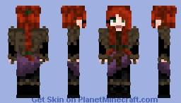 Dwarf female Minecraft Skin