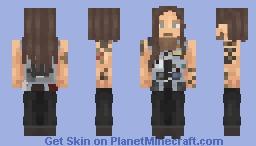 Fenriz Minecraft Skin