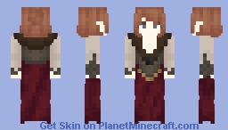 Knock-off Orianna Minecraft Skin