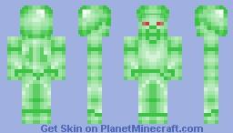 Green Steve   Zielony Steve Minecraft Skin