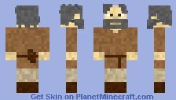 Old Man Medieval Villager (Merchant) Minecraft Skin