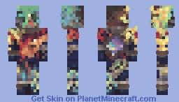 3am on Jupiter Minecraft Skin