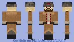 Your Soviet Comrade Minecraft Skin