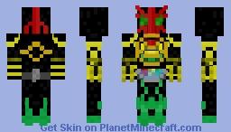 Kamen Rider OOO Minecraft Skin