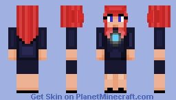 Will that be all Ms. Potts? Minecraft Skin