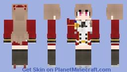 HMS Swiftsure - Azur Lane Minecraft Skin