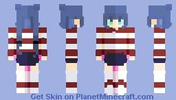 Sky blue [Rce]   Holographic_ Minecraft Skin