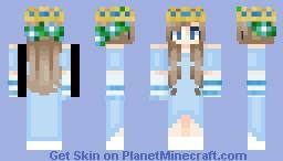 Blue Princess Minecraft Skin