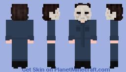 Halloween 2018 Michael Myers Minecraft Skin