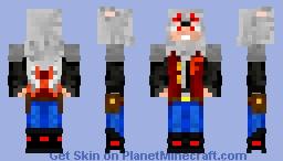 Asty avec la veste Fire Squad Minecraft Skin