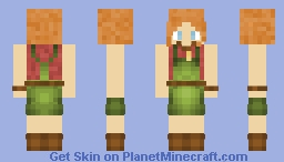 Beverly Marsh Minecraft Skin